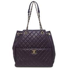 Chanel Large Quilted Purple Quilts, Designer Handbags, Rolex, Chanel, Louis Vuitton, Shoulder Bag, Luxury, Fashion, Couture Bags