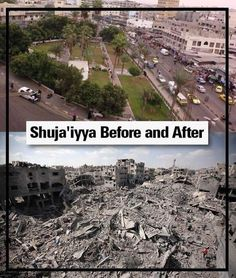 The Israeli destruction in Gaza can be seen from space and the world still can't see it.