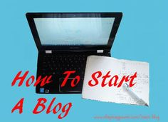 """How to start A Blog Blogging is a shortened term for """"Web Log."""" It is an online journal and is a famous medium to share one's thoughts and opinions about certain topics. It is easy to create one. Let me walk you through to the step-by-step process of starting your first blog, now."""