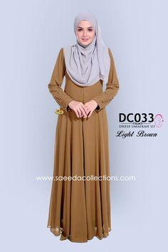 DRESS CHIFFON UMAIRAH DC033