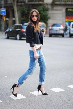 boyfriend style. i neeed these zara shoes