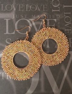 Hey, I found this really awesome Etsy listing at https://www.etsy.com/listing/231684099/seed-bead-extra-large-hoop-earrings