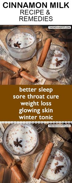 Cinnamon milk remedies #remedy #weightloss