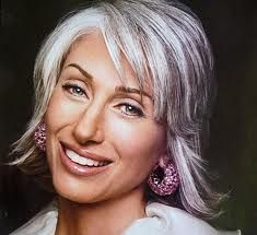 white hair with lowlights - Google Search