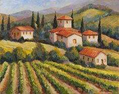 Tuscany Art For Sale | Tuscany Artworks | Contemporary Tuscany Art