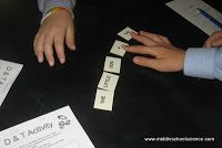 beginning of the year activity--to show how scientists (and students) work together