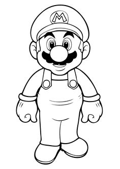 All Mario Characters Coloring Pages | Free Printable Mario Coloring Pages For Kids