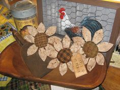 Very Large Primitive Set of 3  DAISY PRIMS by JustHanginAroundPrim, $14.95