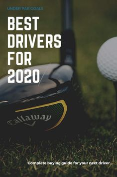 Choosing the right driver is essential. There are so many options out there for golf clubs that can make it very confusing. Our best drivers guide for 2020 is one of our essential golf equipment guides that everyone should read. Golf Drivers, New Drivers, Golf Clubs For Beginners, Mens Golf Clubs, Golf Books, Golf Gifts For Men, Woods Golf, Best Golf Courses, Golf Instruction