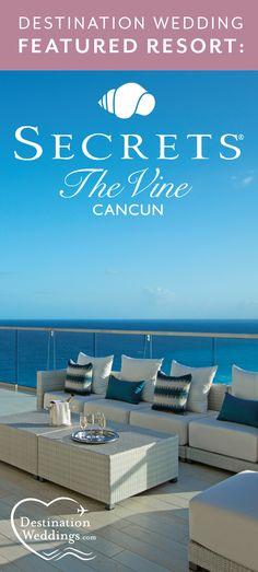 Secrets The Vine Cancun   All-inclusive resort   Cancun destination wedding   Mexico destination wedding   Mexico wedding packages