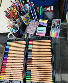 Stationary Store, Stationary School, Cute Stationary, School Stationery, Art School, Back To School, School Suplies, Bullet Journal Notes, Stabilo Boss