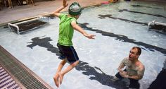 How to Mix Pool Play with Physical Therapy. Having a blast at the pool can have real benefits for children.