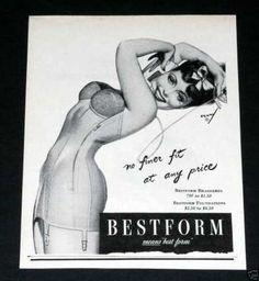 Old , Bestform, Petty Pin-up Art (1944)