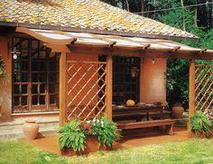 Barsotti Legnami - vendita pergole tecniche pergolati in legno da giardino Pisa Livorno Lucca Firenze