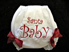 Hey, I found this really awesome Etsy listing at http://www.etsy.com/listing/85124455/christmas-baby-bloomer-set-girls