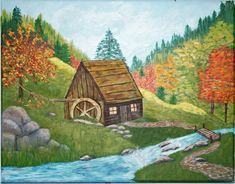 """Prospectors Mill"" by Christine Miceli"