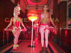 Christmas themed Canape hostesses and canape hosts to hire across the UK delivering your canapes with a delicious smile and a little theatre. Champagne Drinks, Candy Costumes, Little Theatre, Circus Theme, Willy Wonka, Chocolate Factory, London Wedding, Candyland, Leeds