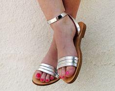 Sandalias de cuero hecho a mano en cuero por TheSandalStories