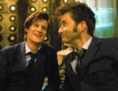 My two favorite Doctors they are so adorable!!