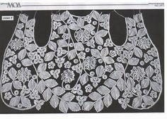Letras e Artes da Lalá: como montar crochê irlandês
