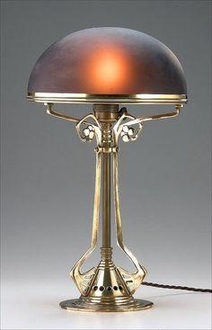 Art Nouveau Lamp, 1905