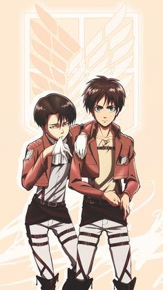 2 of 3 of my top the characters in Attack on Titan! Kinda happy to see Mikasa cut out. Not much of female chara fan (except Petra,she passes with me).