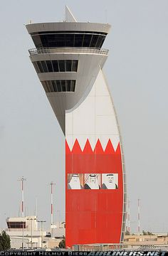 Not only bc its Bahrain (BAH/OBBI). It is a cool air traffic control tower.