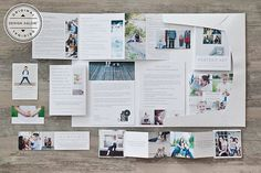 Portrait Welcome Packet Modern Minimalist Edition by DesignAglow, $125.00