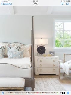 Palisades love nest @dtminteriors #designedtomove @aimeemiller #master #bedroom pearl and driftwood