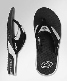 Comfy, go with everything, and a bottle opener...essential footwear :)