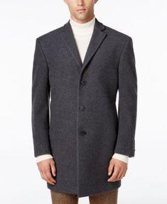 Calvin Klein Men's Prosper X-Fit Overcoat | macys.com
