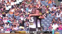 Wests Tigers v Penrith Panthers, highlights. NRL Week 2 2017