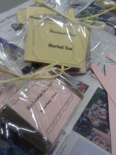 Herbal Tea Soap packaging