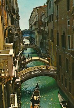 Life is like Venice. One bridge after another to cross!