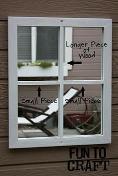 It's FUN to craft!: Fake Window