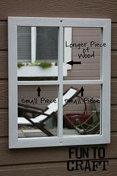 It's FUN to craft!: Fake Window