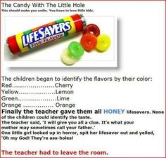 haha! I should do this to my students!