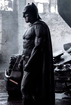Ben Affleck suit up as The Batman in the new still from Batman v Superman