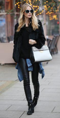 Poppy out in London.
