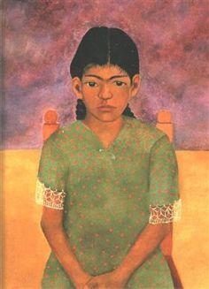 Portrait of Virginia (Little Girl) - Frida Kahlo