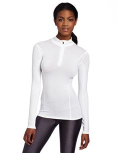 Gore Bike Wear Womens Base Layer Lady Turtleneck Shirt White Large -- Details can be found by clicking on the image.