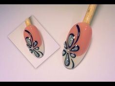 nail art - decò in rilievo  #nailart #nails #tutorialnailart