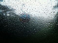 rainyday cablecar windowview (대명비발디파크 케이블카)