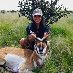 Congratulations to Prois customer, Britney Garcia, on her first pronghorn antelope taken near Santa Rosa, New Mexico! #proiswasthere #huntinglife