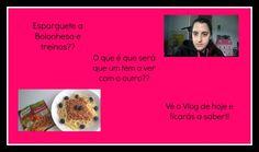 Treinos e Esparguete a Bolonhesa - Vlogs da Mady