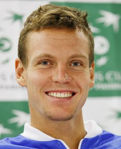 The Hottest Male Tennis Players at the 2014 U.S. Open: Tomas Berdych of Czech Republic. #InStyle