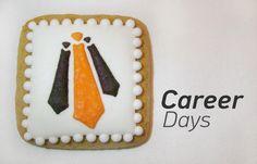 Career Days cookie #cookies #logo #cute