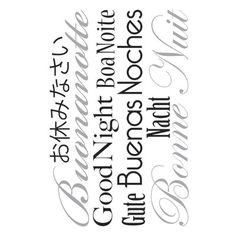 Decorazione-Wallsticker Words Up L Goodnight-34808704