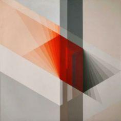 Artista: BRIZZI, Ary Título: Interferencia 27 Año: 1984 Técnica: Acríl/TE Medida: 80x80