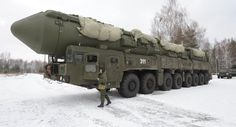 Russia test-launches intercontinental ballistic missile MOSCOW Russia's strategic missile force has test-launched a silo-based solid-propellant . Warsaw Pact, Armored Truck, Ballistic Missile, Soviet Army, Nuclear Force, Nuclear War, Nuclear Bomb, Military Equipment, Armored Vehicles
